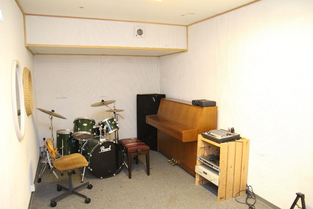 Musikrummet – Hørhus Kollegiet
